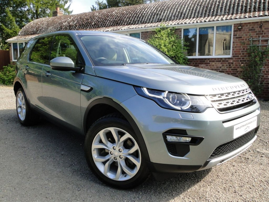 USED 2015 65 LAND ROVER DISCOVERY SPORT 2.0 TD4 HSE 180 7 Seat 5dr Auto Pan Roof