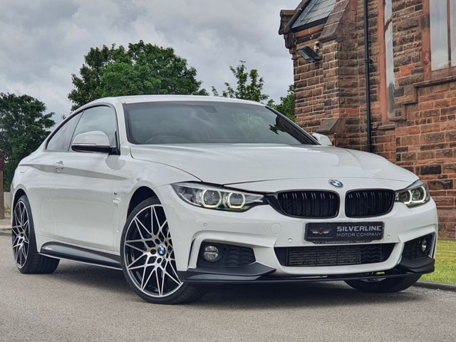 2017 67 BMW 4 SERIES 3.0 430D XDRIVE M SPORT 2d 255 BHP