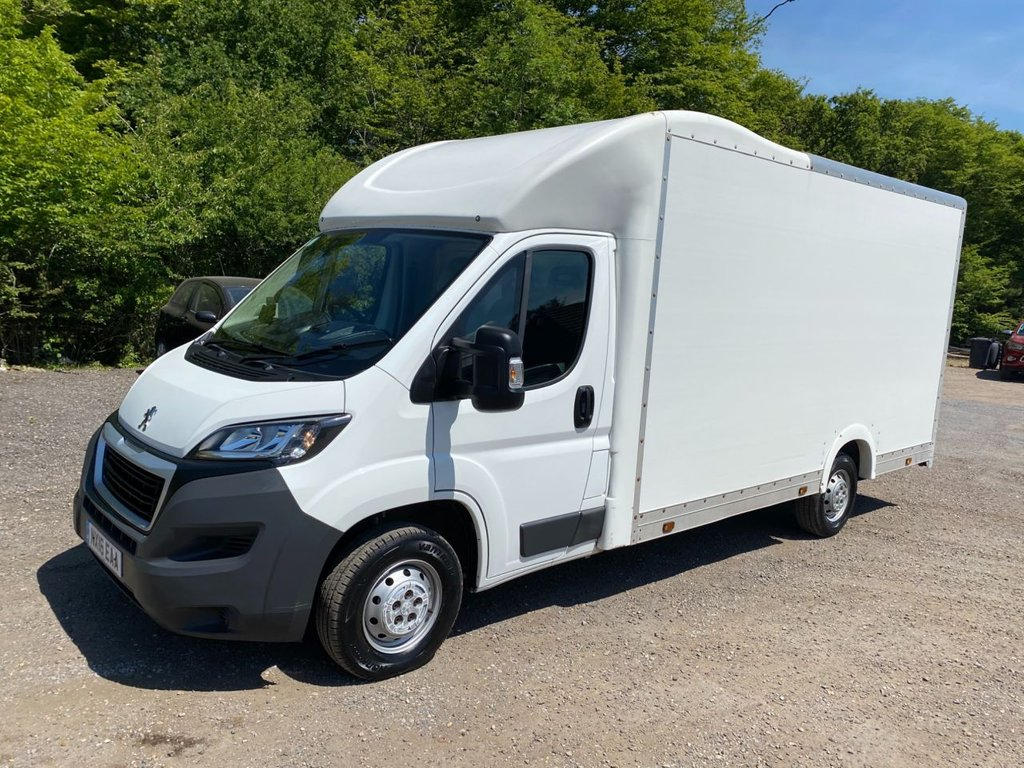 USED 2016 16 PEUGEOT BOXER 2.2 HDI 335 L3 130 BHP LOW LOADER