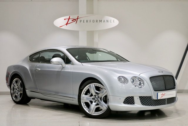 2011 11 BENTLEY CONTINENTAL 6.0 GT MDS 2d 567 BHP