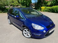 USED 2014 14 FORD S-MAX 2.2 TITANIUM TDCI 5d 197 BHP Full Ford SH, Sat Nav, Rev Cam, HUGE SPEC Full Ford Dealer History, MOT 05/21, Recent Service, Sat Nav, Bluetooth Handsfree And Media, Reverse Camera, Leather / Suede Upholstery, Keyless Entry And Start, Pan Roof With Electric Sunblind, Unmarked 18 In Alloys, Front And Rear Parking Sensors, 7 Seats, Climate Aircon, Cruise Control, Full 3 Row Carpet Mat Set, Auto Lights On, Auto Wipers, Dimming Mirror, Power Fold Mirrors, 6 Month Warranty Included, 7 Seats, incredibly Straight + Clean And Tidy Example, HUGE SPEC! Drives And Looks Absolut