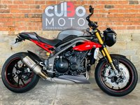 USED 2017 66 TRIUMPH SPEED TRIPLE 1050 R ABS  Triumph Quickshifter + SC Can