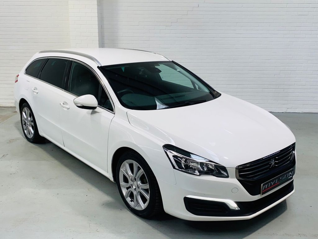 USED 2015 15 PEUGEOT 508 1.6 E-HDI SW ACTIVE 5d 115 BHP