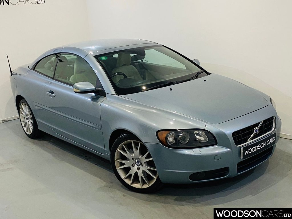 USED 2007 07 VOLVO C70 2.5 T5 SE LUX 2d 221 BHP Full Service History inc Timing Belt / Heated Memory Leather / Electric Seats
