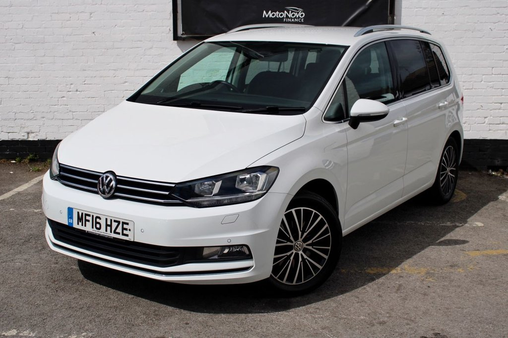 USED 2016 16 VOLKSWAGEN TOURAN 1.4 SEL TSI BLUEMOTION TECHNOLOGY 5d 148 BHP