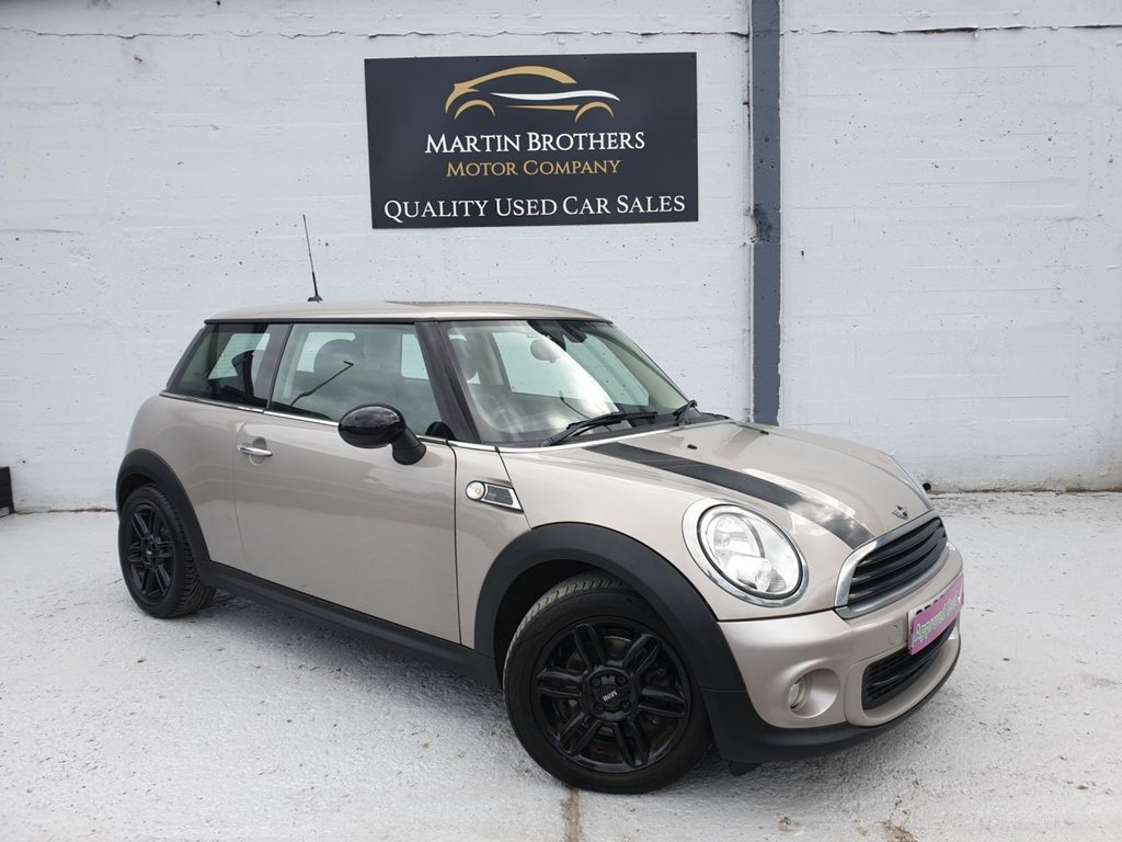 USED 2013 63 MINI HATCH ONE 1.6 ONE BAKER STREET 3d 96 BHP
