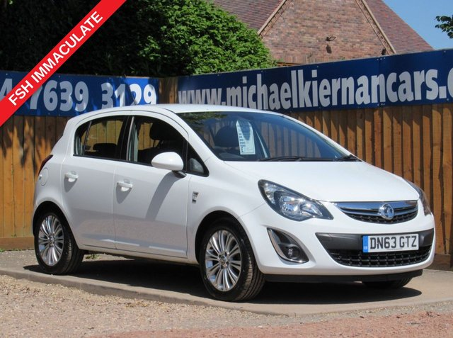 USED 2013 63 VAUXHALL CORSA 1.4 SE 5d 98 BHP IMMACULATE