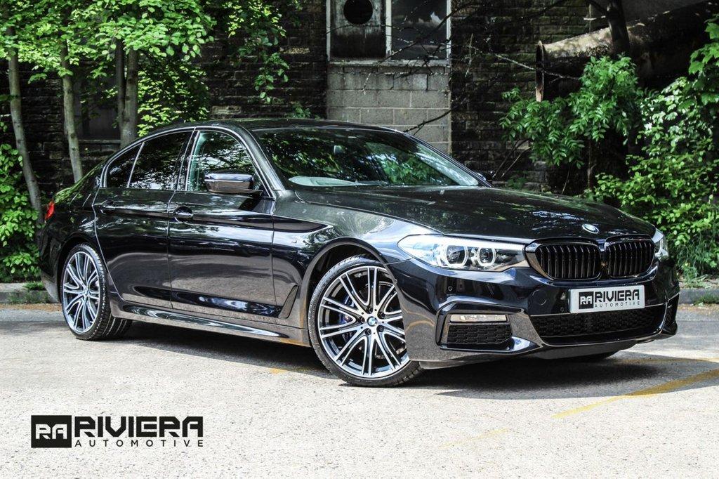 USED 2019 69 BMW 5 SERIES 3.0 530D XDRIVE M SPORT 4d 261 BHP