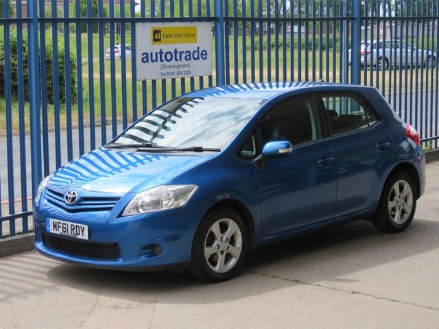 USED 2011 61 TOYOTA AURIS 1.3 VVT-I EDITION 5d 101 BHP ULEZ COMPLIANT Electric Windows,Alloy Wheels,Power Steering