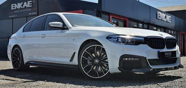 2019 19 BMW 5 SERIES 2.0 520D M SPORT 4d 188 BHP