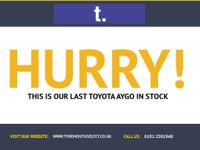 USED 2010 10 TOYOTA AYGO 1.0 BLUE VVT-I 5d 67 BHP Lovely LOW mileage LOW Road Tax LOW Insure Rating HIGH economy LOW running cost 5 Door Toyota in electric Posiedon blue metallic with Air Con electric windows and Remote central door locking -with great service history too !