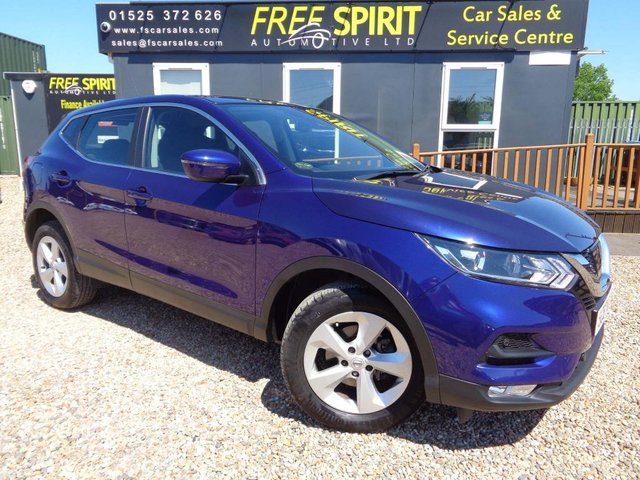 USED 2018 67 NISSAN QASHQAI 1.2 DIG-T Acenta XTRON (s/s) 5dr Low mileage, Bluetooth