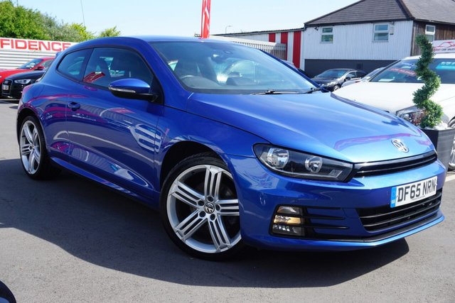 USED 2015 65 VOLKSWAGEN SCIROCCO 2.0 R LINE TDI BLUEMOTION TECHNOLOGY 2d 182 BHP ARRIVING SOON GREAT COLOUR EXAMPLE !!!
