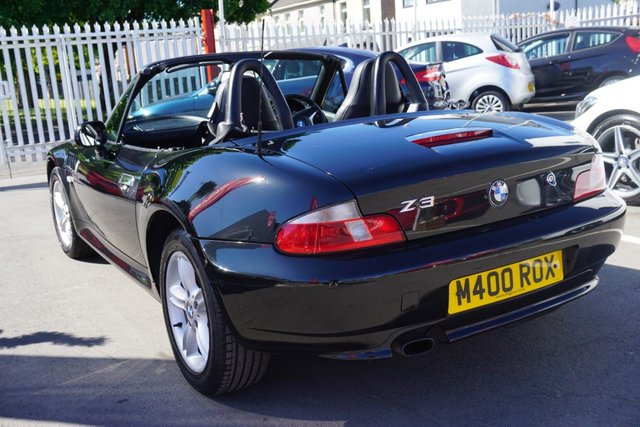 USED 2001 M BMW Z3 1.9 Z3 ROADSTER 2d 117 BHP ** PART X GOLD ** JUST ARRIVED CLEAN EXAMPLE WITH POWER FOLDING ROOF