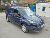 USED 2015 65 FORD TRANSIT CONNECT 1.6  TURBO DIESEL 240  TREND MODEL  LONG WHEEL BASE  ,TWIN SIDE DOORS  AIR CON  1 OWNER FULL SERVICE HISTORY  CONNECT LONG WHEEL BASE 240 MODEL TREND TWIN SIDE DOORS AIR CON