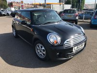 USED 2013 63 MINI HATCH COOPER 1.6 COOPER 3d 122 BHP ONLY 7000 MILES!!!