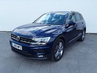 USED 2019 69 VOLKSWAGEN TIGUAN 1.5 MATCH TSI EVO DSG 5d 148 BHP VERY LOW MILEAGE, DELIVERY AVAILABLE, STUNNING ATLANTIC BLUE, GREY CLOTH TRIM, POLISHED ALLOY WHEELS, PARKING SENSORS, TOUCH SCREEN SAT NAV, DAB RADIO, CRUISE CONTROL, VERY LOW MILEAGE, AS NEW STUNNING CAR