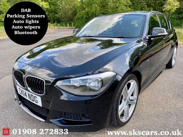 2014 14 BMW 1 SERIES 2.0 116D M SPORT 5d 114 BHP