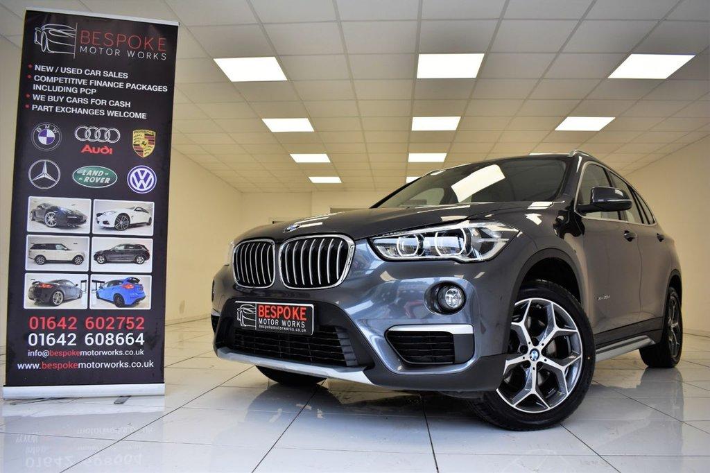 USED 2017 17 BMW X1 XDRIVE20D 2.0 XLINE