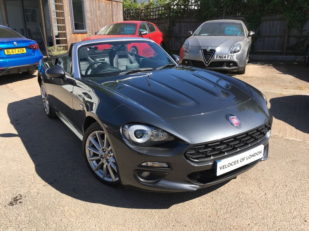 USED 2016 66 FIAT 124 1.4 SPIDER MULTIAIR LUSSO 2d 139 BHP JUST SERVICED