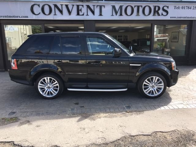 USED 2012 12 LAND ROVER RANGE ROVER SPORT 3.0 SDV6 HSE 5d 255 BHP