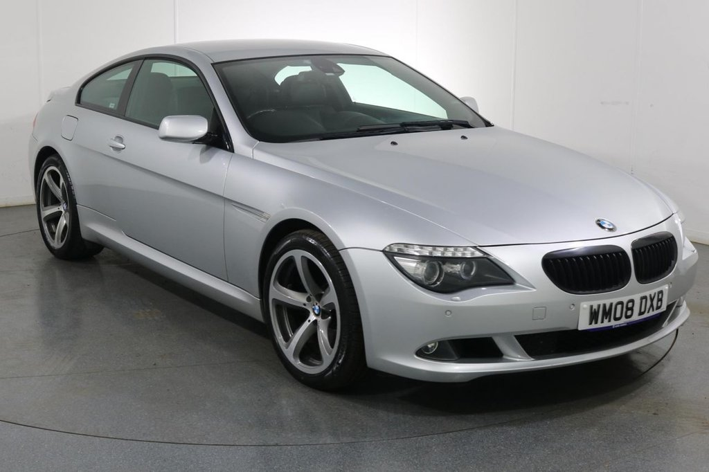 USED 2008 08 BMW 6 SERIES 3.0 635D SPORT 2d 282 BHP 6 Stamp SERVICE HISTORY