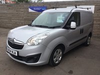 USED 2014 64 VAUXHALL COMBO 1.2 2000 L1H1 CDTI SPORTIVE NO VAT