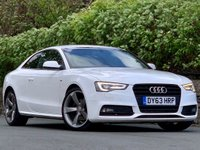 USED 2013 63 AUDI A5 2.0 TDI BLACK EDITION 2d 177 BHP FSH/ Excellent Condition