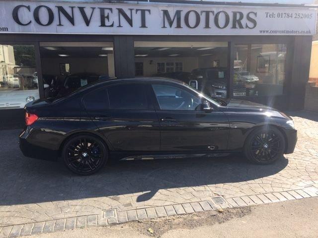 USED 2015 15 BMW 3 SERIES 3.0 330D M SPORT 4d 255 BHP