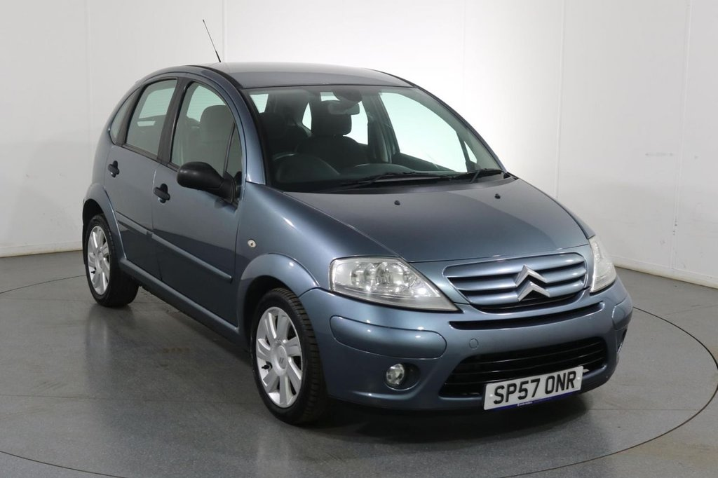USED 2007 57 CITROEN C3 1.6 SX AUTOMATIC 16V  5d 108 BHP 7 Stamp SERVICE HISTORY