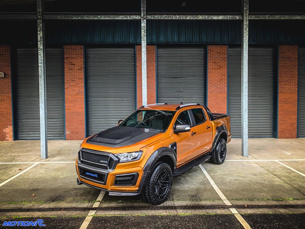 USED 2021 70 FORD RANGER 2.0 DOUBLECAB WILDTRAK
