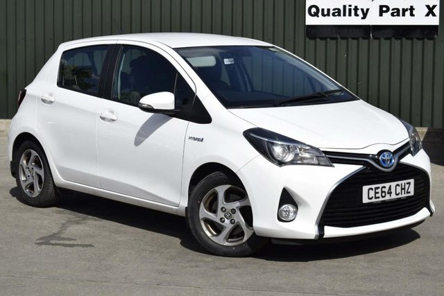 USED 2014 64 TOYOTA YARIS 1.5 VVT-h Icon E-CVT 5dr CALL FOR NO CONTACT DELIVERY