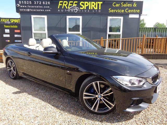 USED 2016 16 BMW 4 SERIES 2.0 420d M Sport 2dr Low mileage, Leather, Sat nav