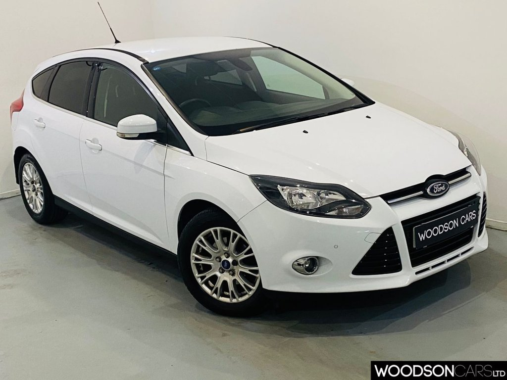USED 2011 61 FORD FOCUS 1.6 TITANIUM 5d 124 BHP Sat Nav / Bluetooth / Privacy Glass / Parking Sensors