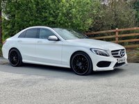 USED 2016 66 MERCEDES-BENZ C-CLASS 2.1 C220 D AMG LINE PREMIUM PLUS 4d 170 BHP