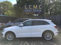 USED 2011 11 AUDI Q5 2.0 TDI QUATTRO SE 5d 141 BHP STUNNING IBIS WHITE PAINT WORK, BLACK MILANO LEATHER INTERIOR, ALLOY WHEELS, FRONT AND REAR PARKING SENSORS, AIRCON, HDD SAT NAV, BLUETOOTH, CD. SERVICE HISTORY, CAMBELT AND WATER PUMP HAS BEEN CHANGED