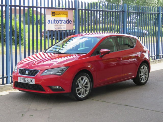 USED 2016 16 SEAT LEON 1.6 TDI SE DYNAMIC TECHNOLOGY 5dr Sat nav Cruise DAB Bluetooth Finance arranged Part exchange available Open 7 days