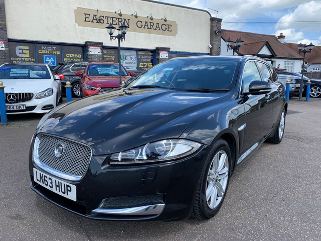 USED 2013 63 JAGUAR XF 2.2 D LUXURY SPORTBRAKE 5d 163 BHP
