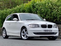 USED 2010 59 BMW 1 SERIES 2.0 118D SPORT 3d 141 BHP EXCELLENT SERVICE HISTORY