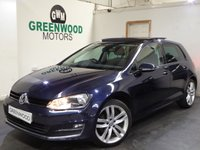 USED 2016 16 VOLKSWAGEN GOLF  1.6 TDI BlueMotion Tech GT Edition (s/s) 5dr