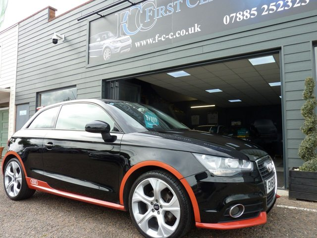 2011 61 AUDI A1 1.4 TFSI COMPETITION LINE 3d 122 BHP