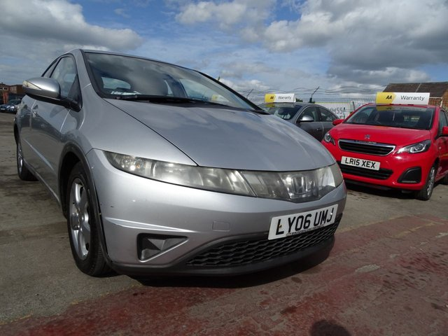 USED 2006 06 HONDA CIVIC 2.2 SE I-CTDI  5d 139 BHP DRIVES WELL