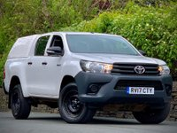 USED 2017 17 TOYOTA HI-LUX 2.4 ACTIVE 4WD D-4D DCB 148 BHP GOOD VALUE FOR MONEY!