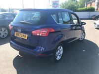 USED 2017 17 FORD B-MAX 1.4 ZETEC 5d 89 BHP ONLY 9000 MILES EX MOTABILITY!