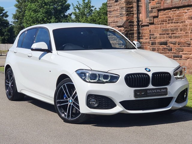2018 68 BMW 1 SERIES 2.0 120D XDRIVE M SPORT SHADOW EDITION 5d 188 BHP
