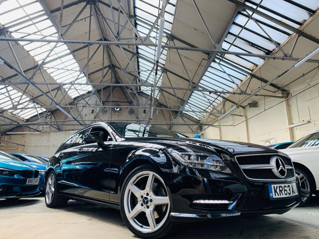 USED 2013 M MERCEDES-BENZ CLS CLASS 2.1 CLS250 CDI BlueEFFICIENCY AMG Sport Shooting Brake 7G-Tronic Plus (s/s) 5dr VERY TIDY CLS 12M WARRANTY