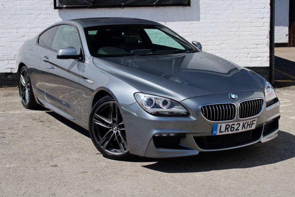 USED 2012 62 BMW 6 SERIES 3.0 640D M SPORT 2d 309 BHP