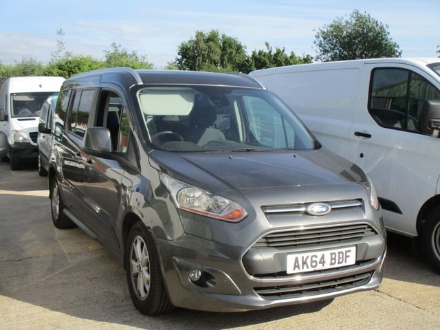 2014 64 FORD GRAND TOURNEO CONNECT 1.6 Ford Transit connect TITANIUM tourneo 7 seater TDCI 5d 115 BHP