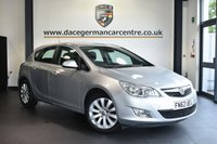"""USED 2012 62 VAUXHALL ASTRA 1.7 ELITE CDTI 5DR 123 BHP Finished in a stunning silver styled with 17"""" alloys. Upon entry you are presented with full black leather interior, bluetooth, heated seats, cruise control, multi functional steering wheel, air conditioning....."""