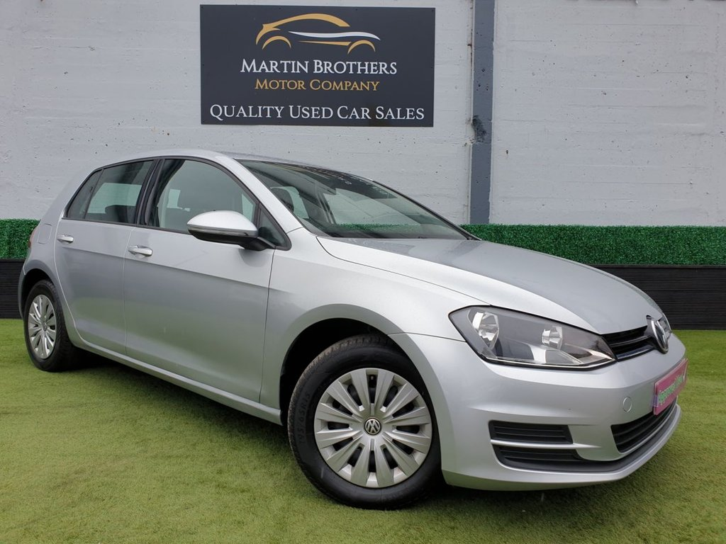 USED 2015 15 VOLKSWAGEN GOLF 1.6 S TDI BLUEMOTION TECHNOLOGY 5d 103 BHP